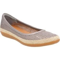 Women's Clarks Danelly Adira Slip-On Silver Cow Full Grain Leather