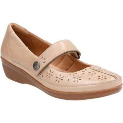 Women's Clarks Everlay Bai Mary Jane Sand Cow Full Grain Leather