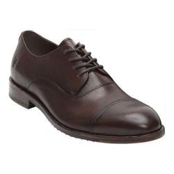 Men's Frye Sam Oxford Dark Brown Full Grain