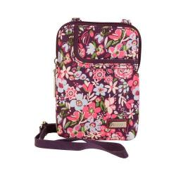 Women's Hadaki by Kalencom Mobile Cross Body Bag Blossoms