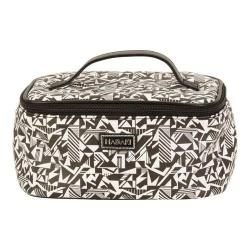 Women's Hadaki by Kalencom Train Cosmetic Case Black/White