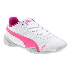 Girls' PUMA Tune Cat 3 PS Sneaker PUMA White/Knockout Pink