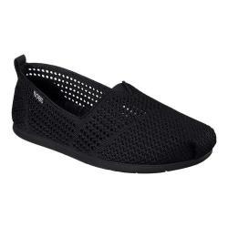 Women's Skechers BOBS Plush Lite Peek Slip-On Black