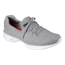 Women's Skechers GOwalk 4 All Day Comfort Walking Sneaker Gray