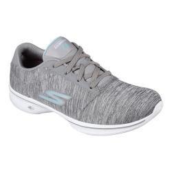 Women's Skechers GOwalk 4 Serenity Walking Shoe Gray/Blue