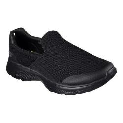 Men's Skechers GOwalk 4 Slip-On Sneaker Black