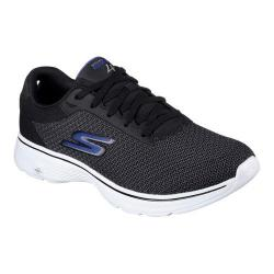 Men's Skechers GOwalk 4 Sneaker Black/Blue