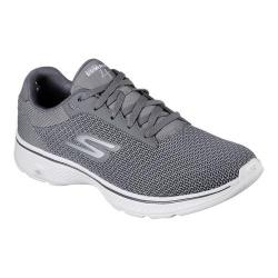 Men's Skechers GOwalk 4 Sneaker Charcoal