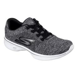 Women's Skechers GOwalk 4 Walking Sneaker Black/White