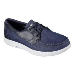 Men's Skechers On the GO Glide Boat Shoe Navy/Gray