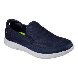 Men's Skechers On the GO Glide Response Slip-On Sneaker Navy/Gray
