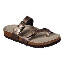 Women's Skechers Relaxed Fit Granola Home Grown Toe Loop Sandal Bronze