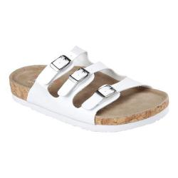 Women's Skechers Relaxed Fit Granola Nature Role Slide White