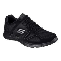 Men's Skechers Satisfaction Flash Point Trainer Black