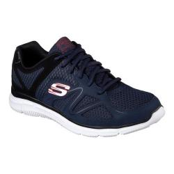 Men's Skechers Satisfaction Flash Point Trainer Navy/Black (More options available)