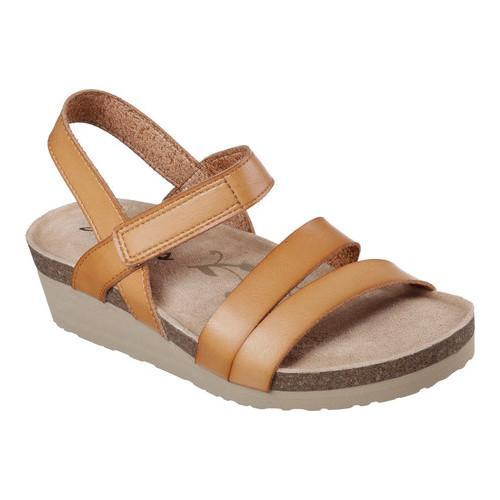 80cb115fe16e Shop Women s Skechers Troos Simply Effortless Ankle-Strap Sandal Tan - Free  Shipping On Orders Over  45 - Overstock - 14392326