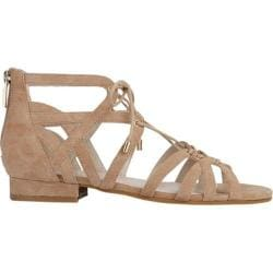 Women's Kenneth Cole New York Valerie Gladiator Sandal Almond Suede
