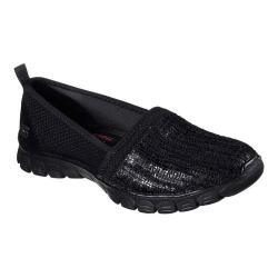 Women's Skechers EZ Flex 3.0 Oh So Fab Slip On Sneaker Black