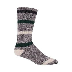 Woolrich Camp Full Body Striped Sock (2 Pairs) Charcoal/Marl