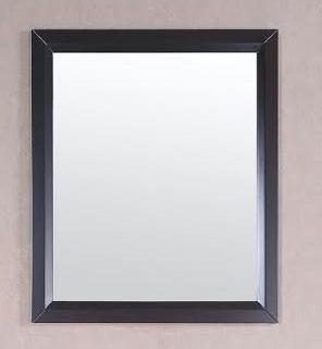 Belvedere 30 x 30 inch Espresso Wall Mirror