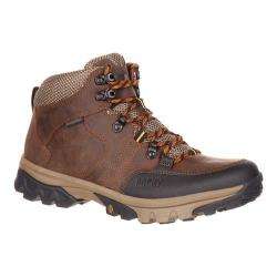 Men's Rocky 5in Endeavor Point Waterproof Outdoor Boot Brown Full Grain Leather