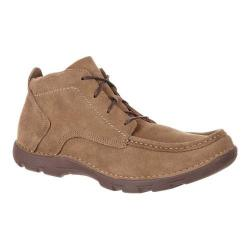 Men's Rocky Cruiser Casual Western Chukka Boot Brown Suede/Leather