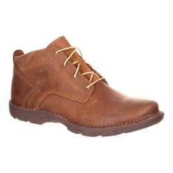 Men's Rocky Cruiser Casual Western Lacer Boot Brown Full Grain Leather