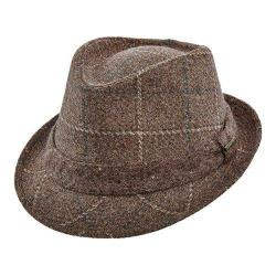 Men's Stetson STW249 Wool Fedora Brown