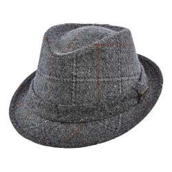 Men's Stetson STW249 Wool Fedora Grey