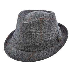 Men's Stetson STW249 Wool Fedora Grey