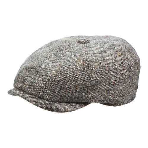 Shop Men s Stetson STW270 Newsboy Cap Black - On Sale - Free Shipping Today  - Overstock - 14409642 04bba4c3f3a