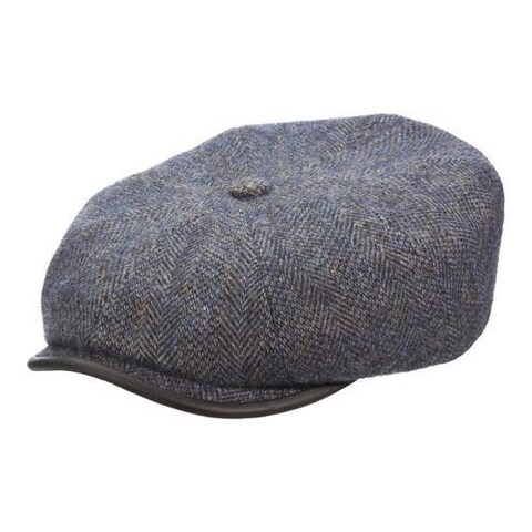 Men's Stetson STW273 Newsboy Cap Grey