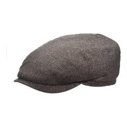 Men's Stetson STW276 Newsboy Cap Brown