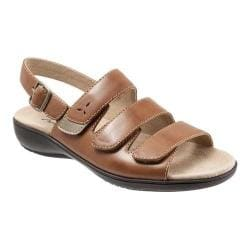 Women's Trotters Kendra Strappy Sandal Luggage Leather