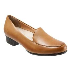 Women's Trotters Monarch Loafer Tan Leather