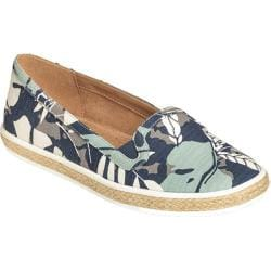 Women's Aerosoles Fun House Loafer Blue Floral