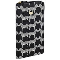 Buxton Zebra Print Travel Wallet