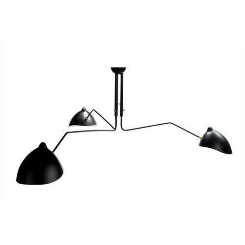 Flytrap Black Steel 3-light Cascade Pendant