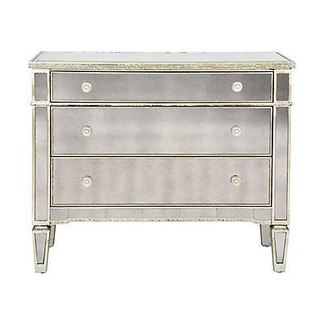 Mirror Storage 3 Drawer Dresser