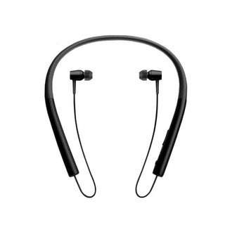 Wireless Bluetooth V4.2 Sport Headphone Hanging Neck Type Stereo Metal Shell Sport Headphone