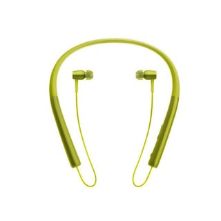 Wireless Bluetooth V4.2 Sport Headphone Hanging Neck Type Stereo Metal Shell Sport Headphone (Option: Yellow)