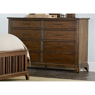 Mill Creek Rustic Cherry 8-Drawer Dresser