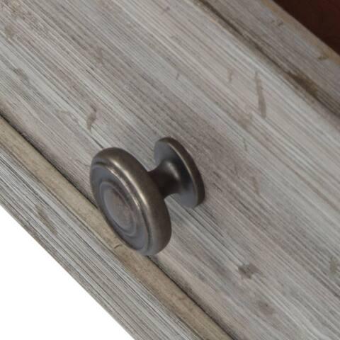 Highlands Gravel Solid Pine 7-Drawer 2-Door Dresser