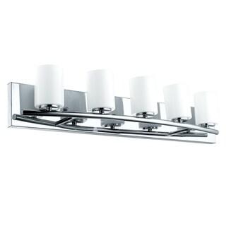Eglo Abete 5-Light Chrome Vanity Light