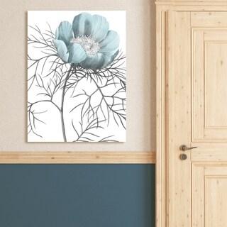 Portfolio Canvas Decor Redoute Paeonia Tenuifolia Canvas Wall Art