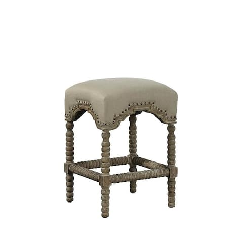 Casaloma Carved Counter Stool