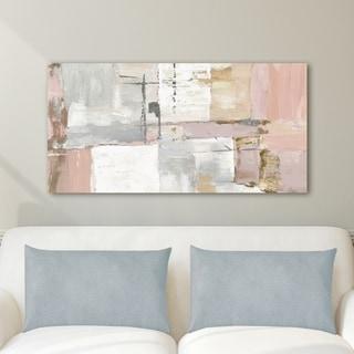 Portfolio Canvas Decor Axis I Light Panel Canvas Wall Art