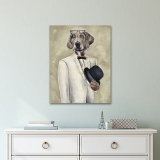 Portfolio Canvas Decor Tuxedo Dog II Canvas Wall Art