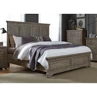 Highlands Gravel Finish Panel Bed Set