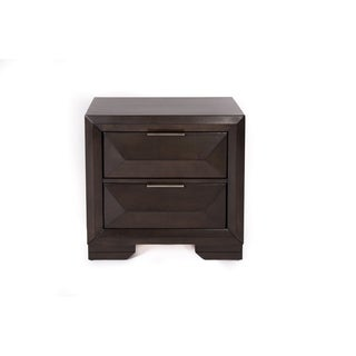 Newland Cappuccino 2-Drawer Nightstand